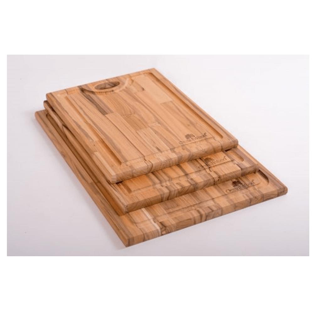 Tábua De Churrasco Com Guarnição G - Oeste Wood