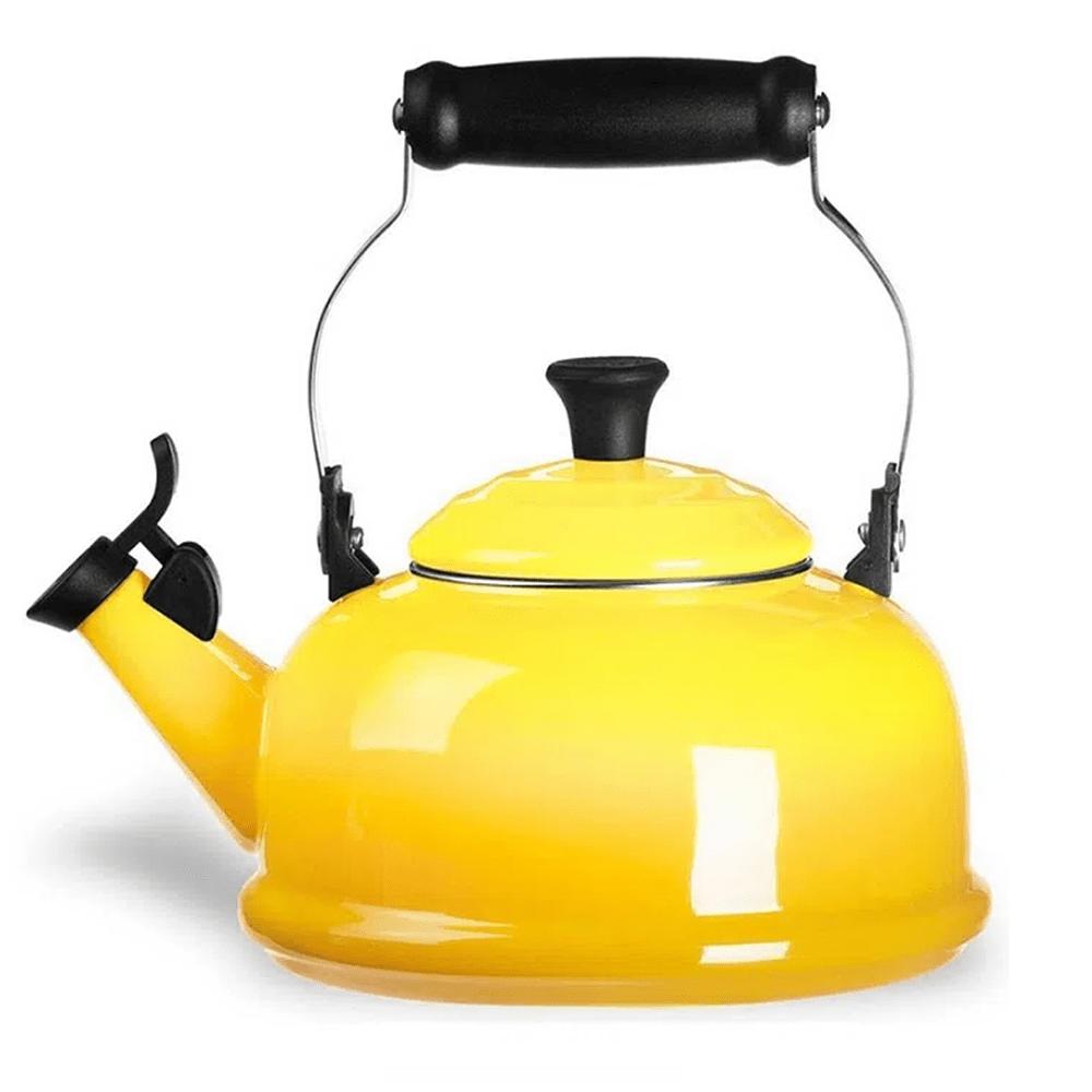 Chaleira Tradicional Com Apito 1,6 Litros Amarelo Sun - Le Creuset